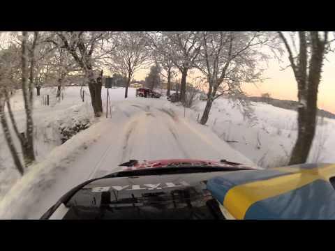 Pontus Tidemand Vintertest Ford Fiesta RS WRC