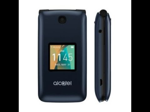 Alcatel Go Flip Review - Unboxing and Hands On