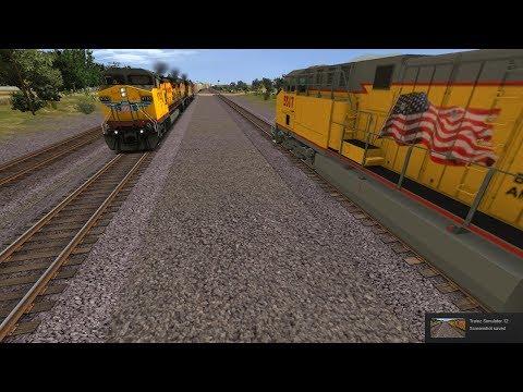 Trainz: Mojave Subdivision (FULL RIDE) UP ES44AC InterModal #991 East