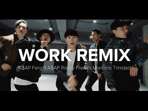 Work Remix - A$AP Ferg / Koosung Jung Choreography