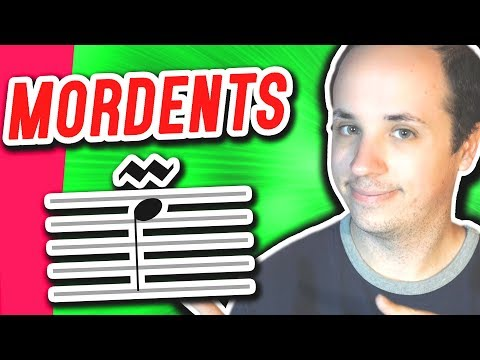 How to Play Mordents on Piano