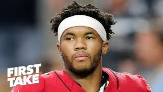 Kyler Murray needs to work on accuracy - Domonique Foxworth | First Take