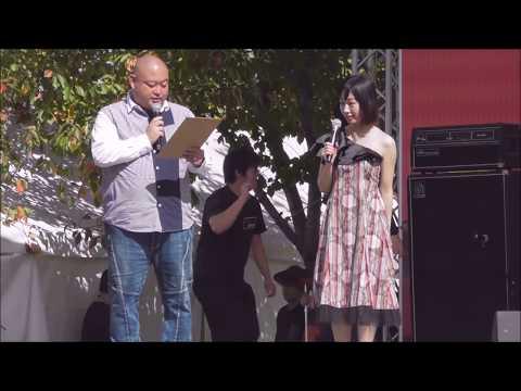 田中菜緒子 with 岡崎好朗 リハーサル ~ エンディングインタビュー@くるめ街かど音楽祭20181021