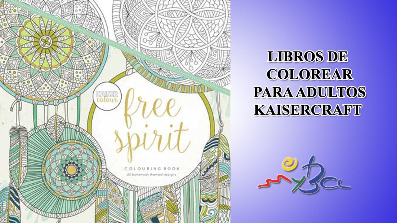 Libros De Colorear Para Adultos Kaiser Craft Terapia Anti Estres