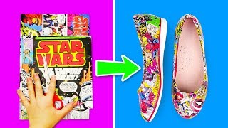 18 DIY CLOTHES AND SHOE HACKS FOR KIDS
