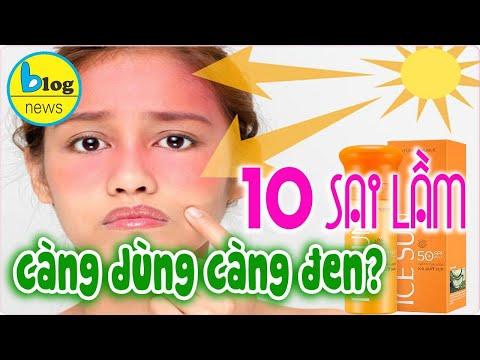 10 Sai lầm khi sử dụng Kem Chống Nắng ai cũng phải biết