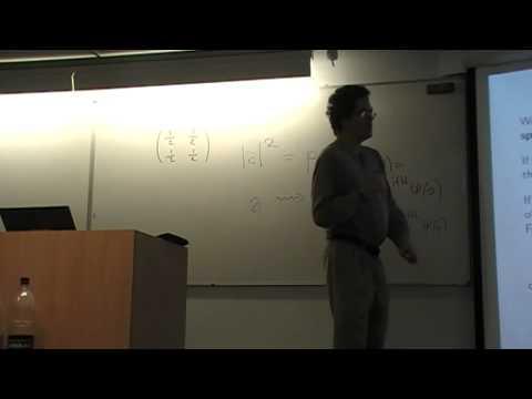 "John Baez: ""Network Theory II: Stochastic Petri nets, reaction networks and Feynman diagrams"""