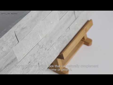 2017 Norway Blue Cultured Stone Art Mosaic, Century Mosaic Factory Manufacturer Supplier