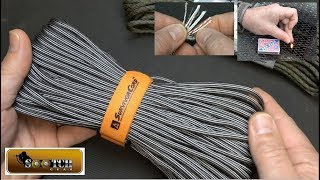 Survival Cord : The Ultimate 550 Paracord!