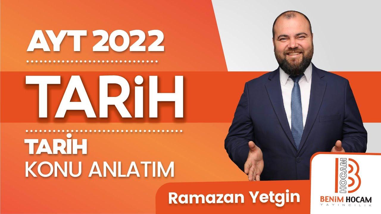 72)Ramazan YETGİN - Kurtuluş Savaşı Hazırlık Dönemi - I (AYT-Tarih)2022