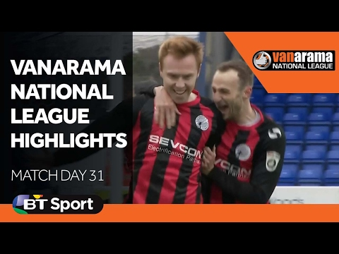 Vanarama National League Highlights Show: Matchday 31