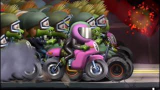 Cheat Zombie Tsunami Riding With The Crazy Biker Zombies!