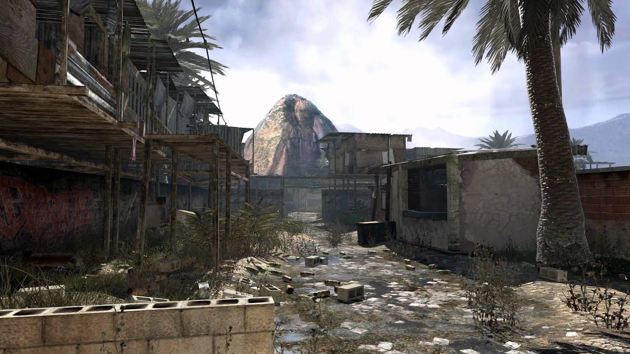 Call Of Duty Wallpaper Hd Modern Warfare 2 Favela Dreamscene Video Wallpaper Youtube