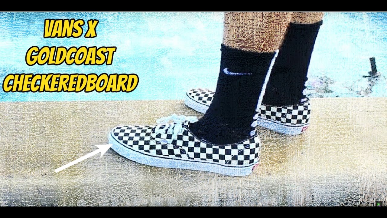d71b5a80c9ab ... Vans checkerboard authentic golden coast Review ...