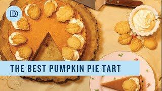 The BEST Pumpkin Pie (Tart) Recipe (Step by step)