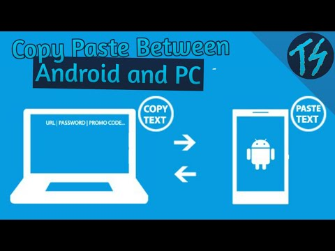 Copy Paste Between Android and PC Wirelessly