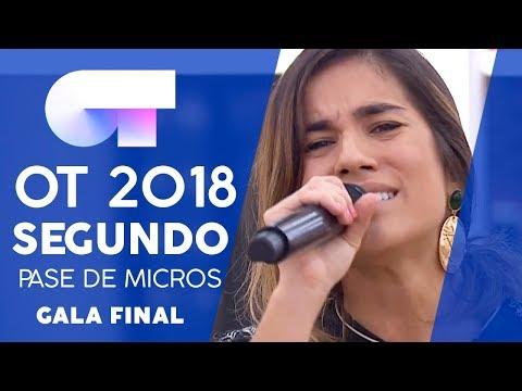 """DÉJAME SER"" - JULIA | SEGUNDO PASE DE MICROS GALA FINAL | OT 2018"