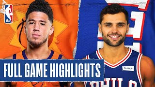 SUNS at 76ERS | FULL GAME HIGHLIGHTS | August 11, 2020