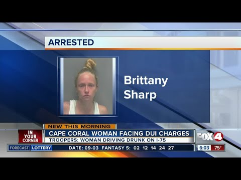 Cape Coral woman charged with DUI