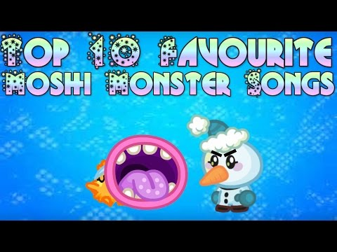 Top 10 Favourite Moshi Monster Songs