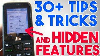 JioPhone Des Trucs Et Astuces Et Fonctionnalités Cachées | Jio Téléphone Secrets Options & Hacks | En Hindi