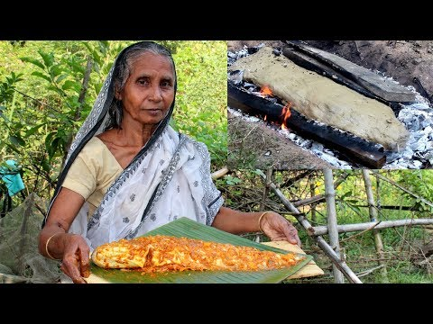 Ancient Fish Recipe Prepared by Grandmother | Cooking Fish in Clay