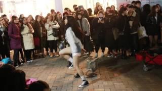 JHKTV] 홍대댄스 hong dae street dance  ha ram gun  woman quest  fire