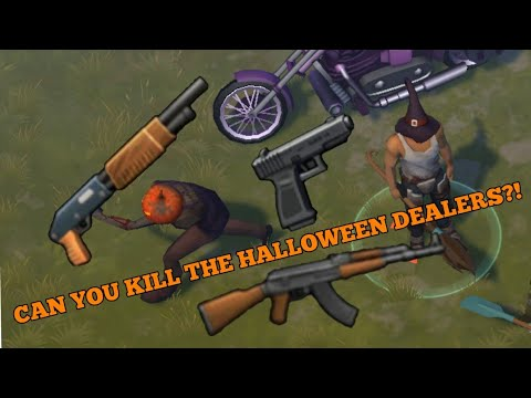 CAN YOU KILL FRANKIE STEIN AND PUMPKINHEAD (THE HALLOWEEN DEALERS)?! Last Day on Earth Survival