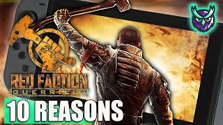 10 REASONS to get excited about RED FACTION GUERRILLA Re-Mars-tered on Switch