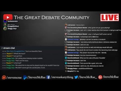 Great Debate Community Live Stream: Memorial To Stephen Hawking