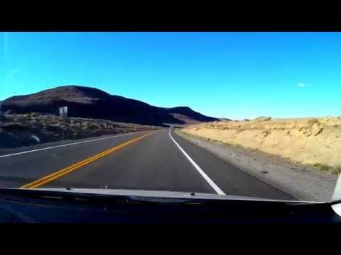 Driving in Silver Springs Nevada