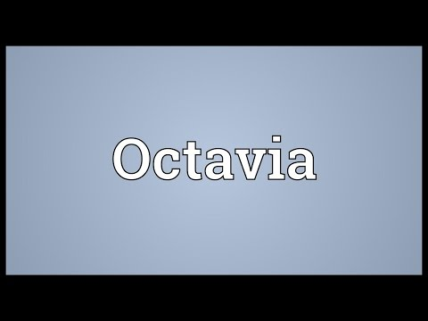 Octavia Meaning