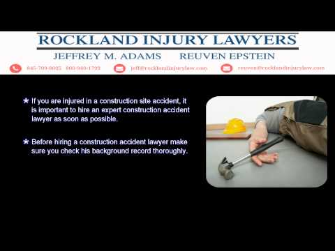 Rockland Construction Accident Lawyer