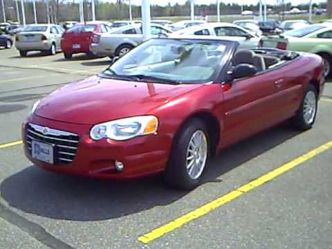 2006 Chrysler Sebring Touring Convertible