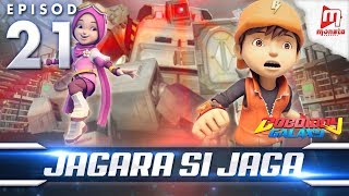 BoBoiBoy Galaxy EP21 | Jagara Si Jaga / The Guardian Robot (ENG Subtitles)