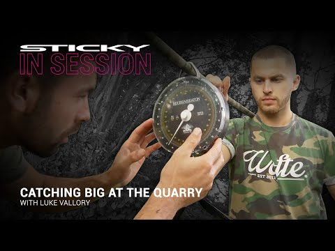 Luke Vallory catches big at the Quarry