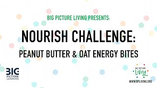 BPLiving Skunkworks create: Peanut Butter Oat Energy Bites!