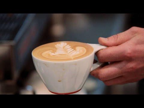 Hướng Dẫn Cách Làm Cà Phê Latte Nghệ Thuật Hình Lá Rosetta