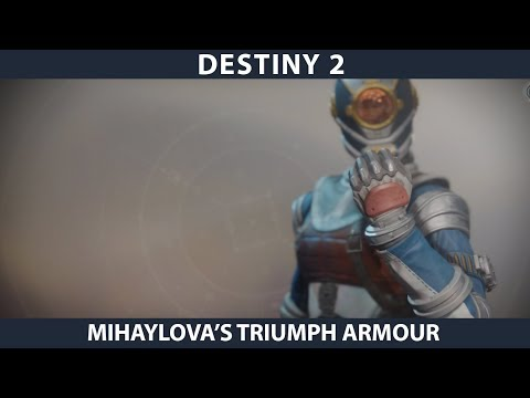 Destiny 2. Warmind  - Mihaylova Warlock Armour.