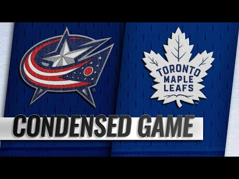 11/19/18 Condensed Game: Blue Jackets @ Maple Leafs