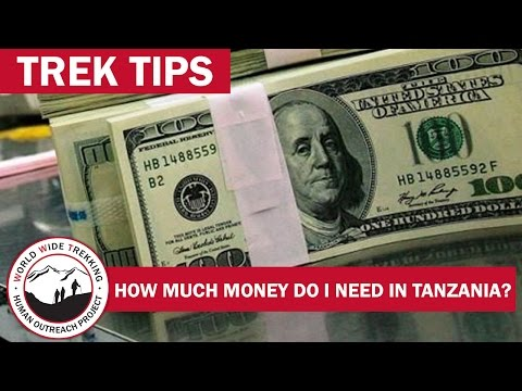 Traveling with Money - Bringing Cash to Tanzania for Safari & Kilimanjaro Climb | Trek Tips