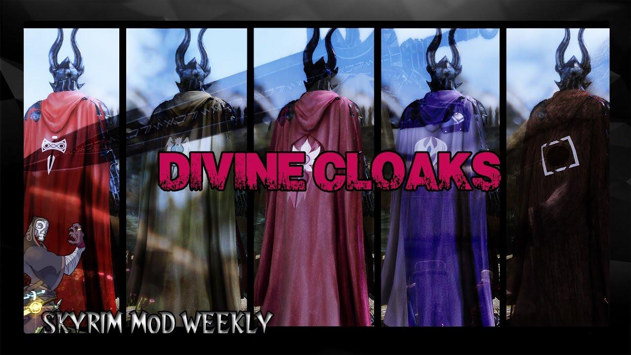 Плащи скайрима   cloaks of skyrim.