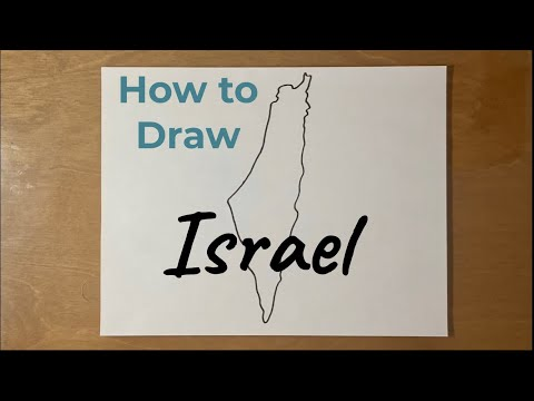 How To Draw Israel
