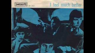 "The Small Faces ""I Feel Much Better"""