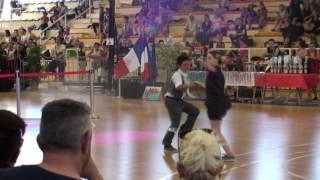 clara mathis boogie cadet 1er coupe de france 2016 avignon