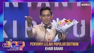 Khai Bahar - Penyanyi Lelaki Popular DuitNow | #ABPBH32