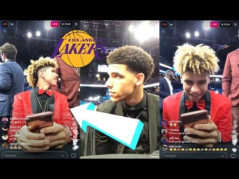 LaMelo Ball Gets ROASTED On Instagram Live Stream At NBA Draft