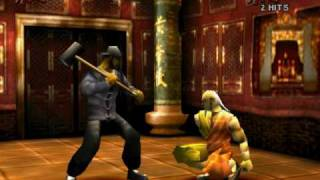 Wu-Tang (psx game) - Final boss vs. Method Man