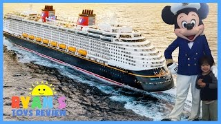 family fun trip disney cruise fantasy 2016 day 1 mickey mouse disney toys for kids ryan toysreview