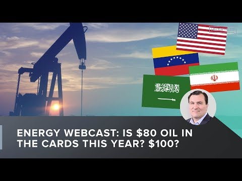 Energy Webcast: Is $80 Oil In the Cards This Year? $100?
